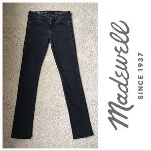 Madewell Black Rail Straight Jeans